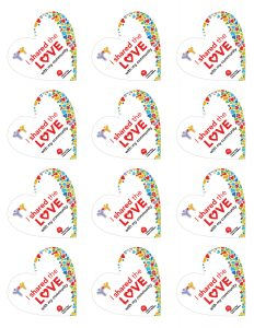 Share the Love Stickers