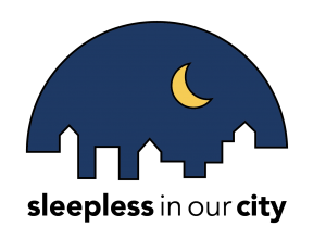 Sleepless in Our City logo