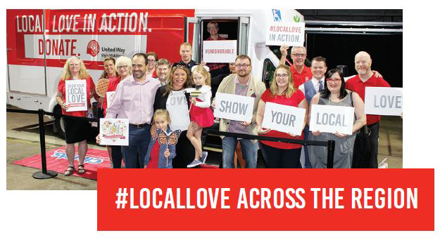 Harvest Lunch 2018 - Local love bus