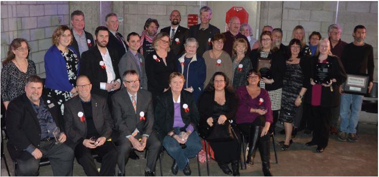 Labour Appreciation Award Winners