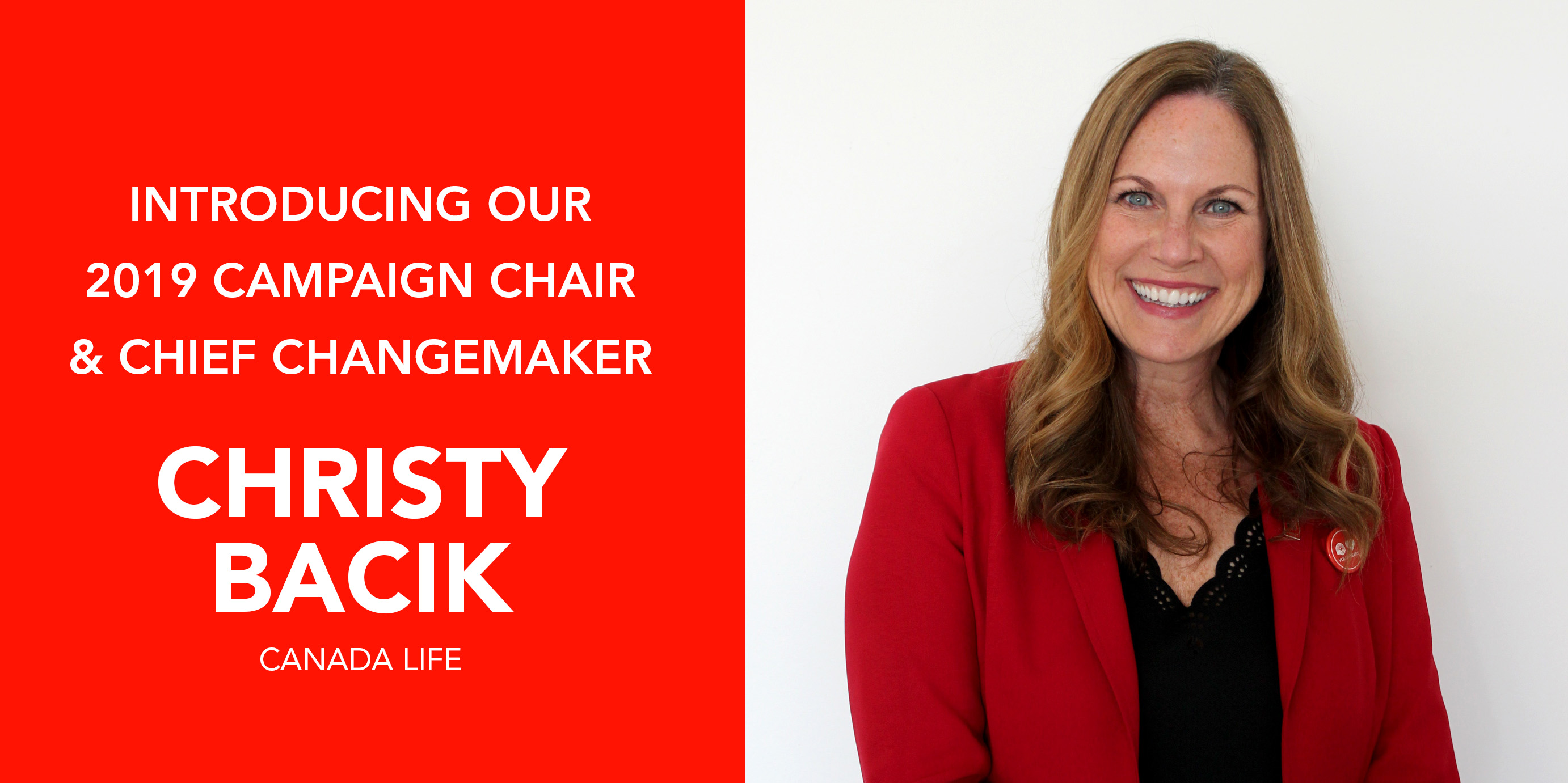 Christy Bacik - Chief ChangeMaker and 2019 Campaign Cabinet