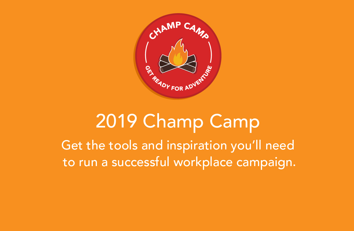 Champ Camp event banner