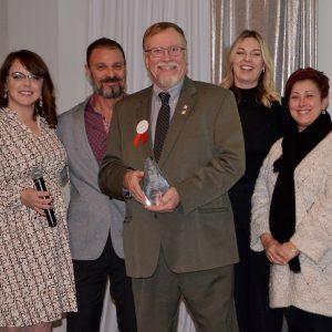John Payne, Jim MacKinnon's Community Builder award winner