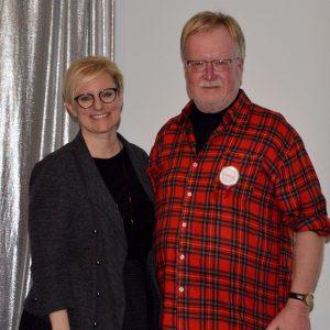 John M - Labour Appreciation Award Winner and Kelly Ziegner