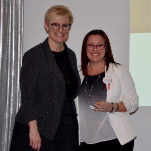 Sabrina, GenNext Labour award winner + Kelly Ziegner