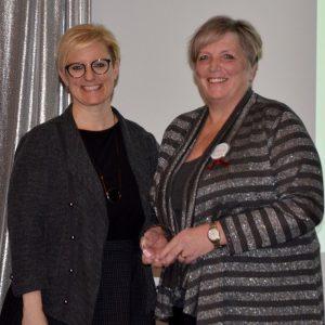 Sandra - Labour Appreciation Award Winner and Kelly Ziegner