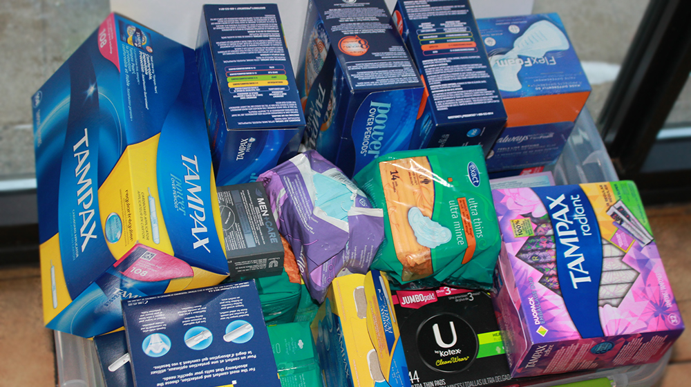 Tampon Tuesday box collection