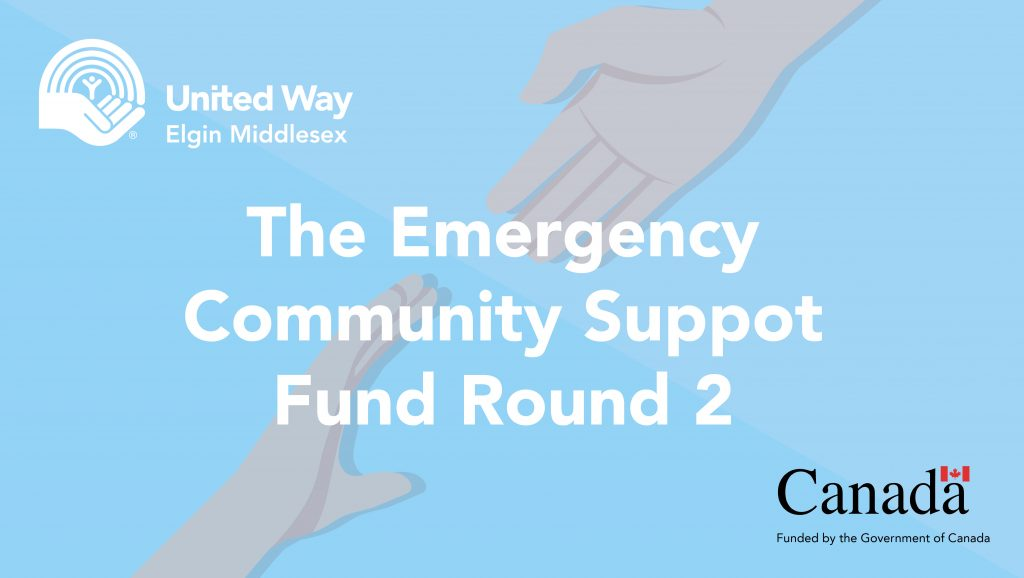 The Emergency Community Support Fund Round 2