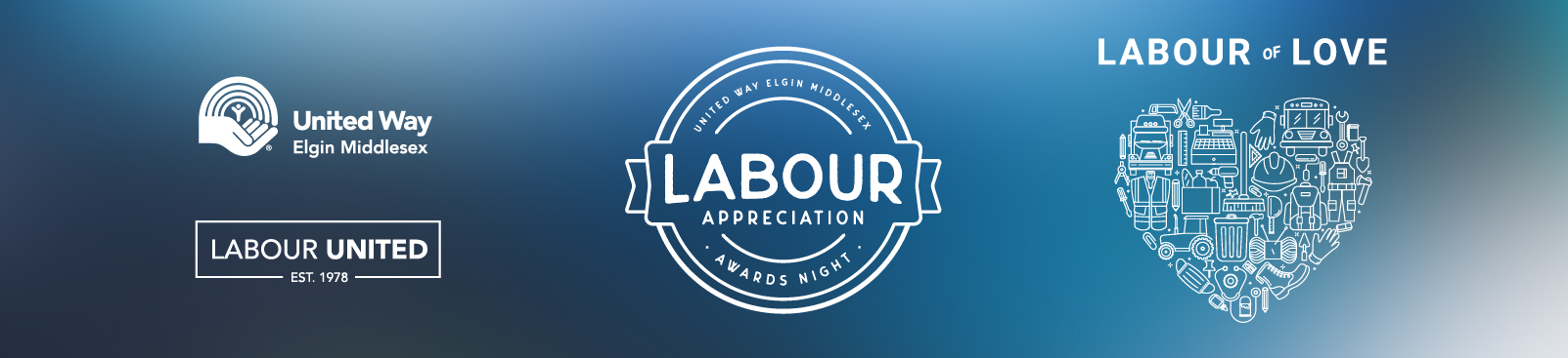 Labour Appreciation Awards Night, Labour of Love thin banner