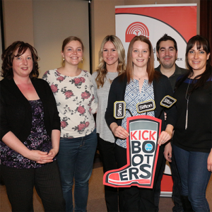 Sifton Properties at Give Cold Feet the Boot event