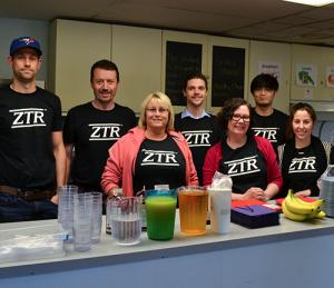 ZTR participating in a breakfast program