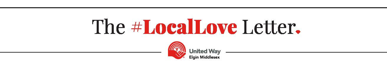 The #LoveLove Letter, United Way Elgin Middlesex