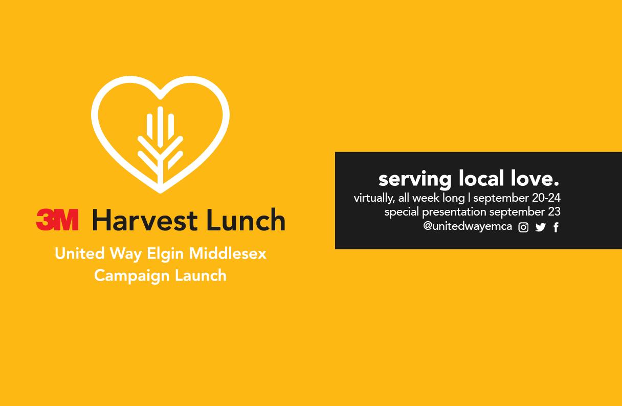 Harvest Lunch event banner